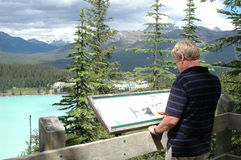 Lake- Louisewanderung Lizenzfreies Stockfoto