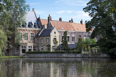 Lake of Love in Bruges, Belgium Royalty Free Stock Photography