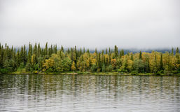 Lake Lovozero, Kola Peninsula Royalty Free Stock Photo