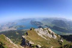 Lake Lucerne Stock Photography