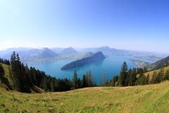 Lake Lucerne Royalty Free Stock Photos