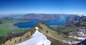 Lake Lucerne Royalty Free Stock Images