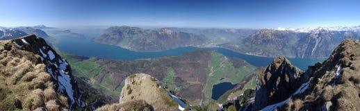 Lake Lucerne Stock Image