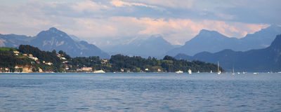 Lake Lucerne Stock Image