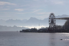 Lake Lucerne Royalty Free Stock Photography