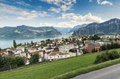 Lake Lucerne Hergiswil Royalty Free Stock Images