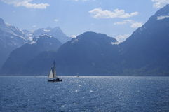 Lake Lucerne scenic Stock Photos
