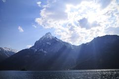 Lake Lucerne scenic Royalty Free Stock Photo
