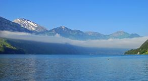 Lake Lucerne,Switzerland. View over the lake lucerne,canton lucerne,switzerland Stock Photos