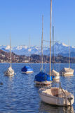 Lake Lucerne. Switzerland in winter Stock Images