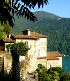 Lake Lugano Stock Photography