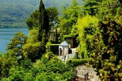Lake Lugano Royalty Free Stock Photography