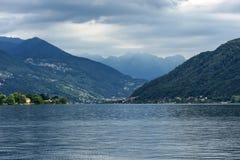Lake of Lugano: Morcote Stock Photography