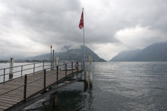 Lake Lugano, Switzerland Stock Photography