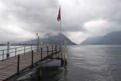 Lake Lugano, Switzerland Stock Photography