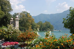 Lake Lugano Switzerland Stock Photography