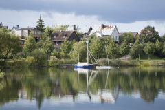 Lake Luka, Trakai, Vilnius Stock Photos