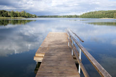 Lake Luka, Trakai, Vilnius Royalty Free Stock Photo