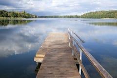 Lake Luka, Trakai, Vilnius Royalty Free Stock Photo