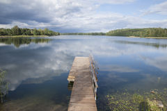Lake Luka, Trakai, Vilnius Stock Images