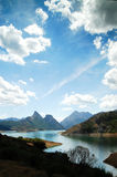 Lake of Luna in Leon (Spain) Royalty Free Stock Photography