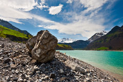 Lake Lungern Royalty Free Stock Images