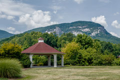 Lake lure and chimney rock  landscapes Royalty Free Stock Images