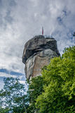 Lake lure and chimney rock  landscapes Stock Photography