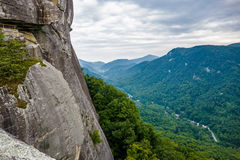 Lake lure and chimney rock  landscapes Royalty Free Stock Photos