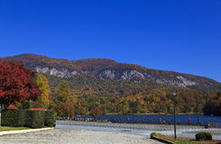Lake Lure in the NC Mountains Royalty Free Stock Images