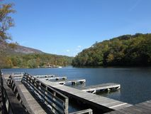 Lake Lure Stock Image