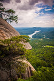 Lake lure overlook Royalty Free Stock Photography
