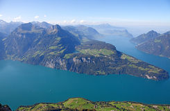 Lake Luzern Stock Photo