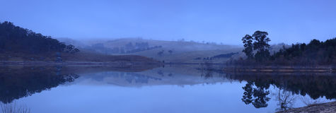 Lake Lyell Dawn Pan Stock Image