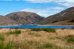 Lake Lyndon, on the Arthurs Pass, Southern Alps, South Island of New Zealand Stock Photo
