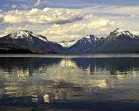 Lake Macdonald in Glacier National Park Royalty Free Stock Photos