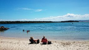 Lake Macquarie View @ Pelican Australia Royalty Free Stock Photo