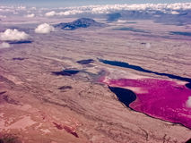 Lake Magadi in Kenya Stock Images