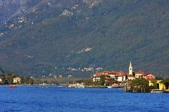 Lake Maggiore. Stock Image