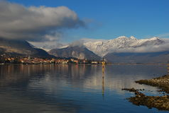 Lake Maggiore, Baveno, Italy. Stock Photography