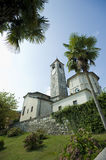 Lake Maggiore church Royalty Free Stock Photography