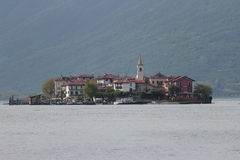 Lake Maggiore and Fishermen Island Stock Photo
