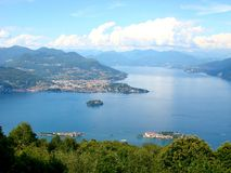 Lake Maggiore In Italy Royalty Free Stock Photography