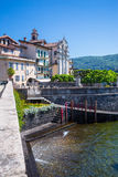 Lake Maggiore, Island Bella, Borromeo Palace; Stresa italy Stock Image