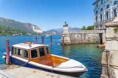 Lake Maggiore, Island Bella, Borromeo Palace; Stresa italy Royalty Free Stock Photo