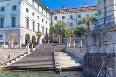 Lake Maggiore, Island Bella, Borromeo Palace; Stresa italy Royalty Free Stock Photography
