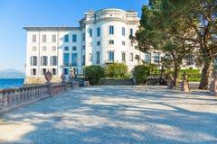 Lake Maggiore, Island Bella, Borromeo Palace; Stresa italy Royalty Free Stock Image