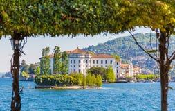Lake Maggiore, Island Bella, Borromeo Palace; Stresa italy Stock Photos
