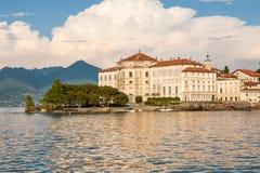 Lake maggiore Island Bella, Stresa Italy Stock Photography