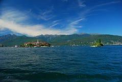Lake Maggiore, Isola dei Pescatori. The Isola dei Pescatori, fisherman's island on Lake Maggiore, Italy stock photos